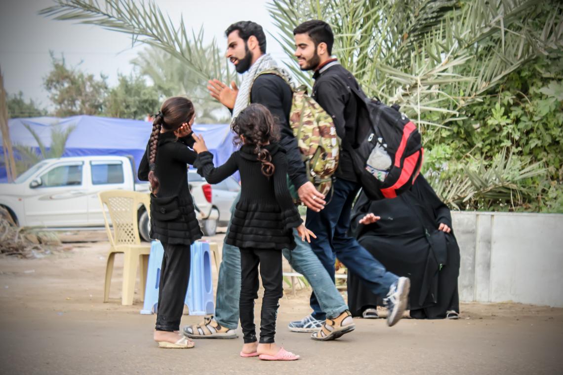 سوگواره پنجم-عکس 18-عبدالحسین عبدی-پیاده روی اربعین از نجف تا کربلا