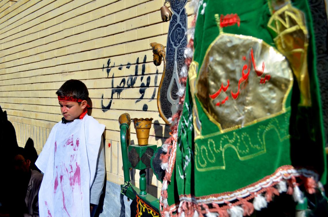سوگواره چهارم-عکس 14-محدثه عامری-آیین های عزاداری
