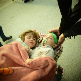 سوگواره پنجم-عکس 7-محمد وحیدیان-پیاده روی اربعین از نجف تا کربلا