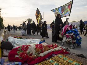 سوگواره پنجم-عکس 35-علی تیموری-پیاده روی اربعین از نجف تا کربلا