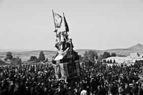 سوگواره چهارم-عکس 25-مرتضی امین الرعایایی-آیین های عزاداری