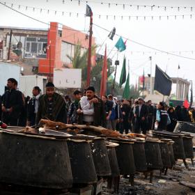 سوگواره سوم-عکس 31-محمد شاه علی-پیاده روی اربعین از نجف تا کربلا
