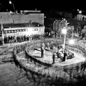 سوگواره دوم-عکس 14-امیر حسین علیداقی-جلسه هیأت فضای بیرونی