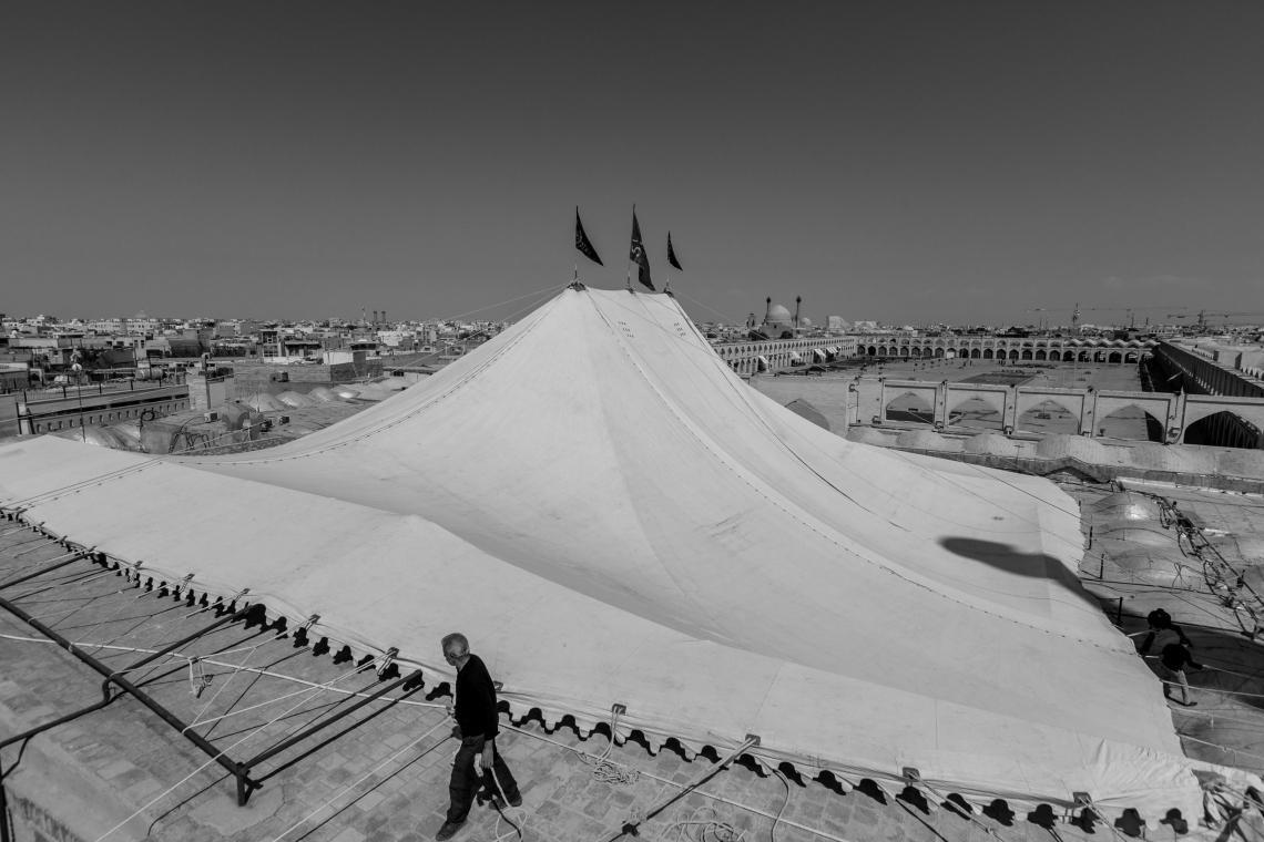 سوگواره پنجم-عکس 61-مجید حجتی-جلسه هیأت فضای بیرونی
