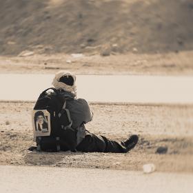 سوگواره سوم-عکس 20-محمد شاه علی-پیاده روی اربعین از نجف تا کربلا
