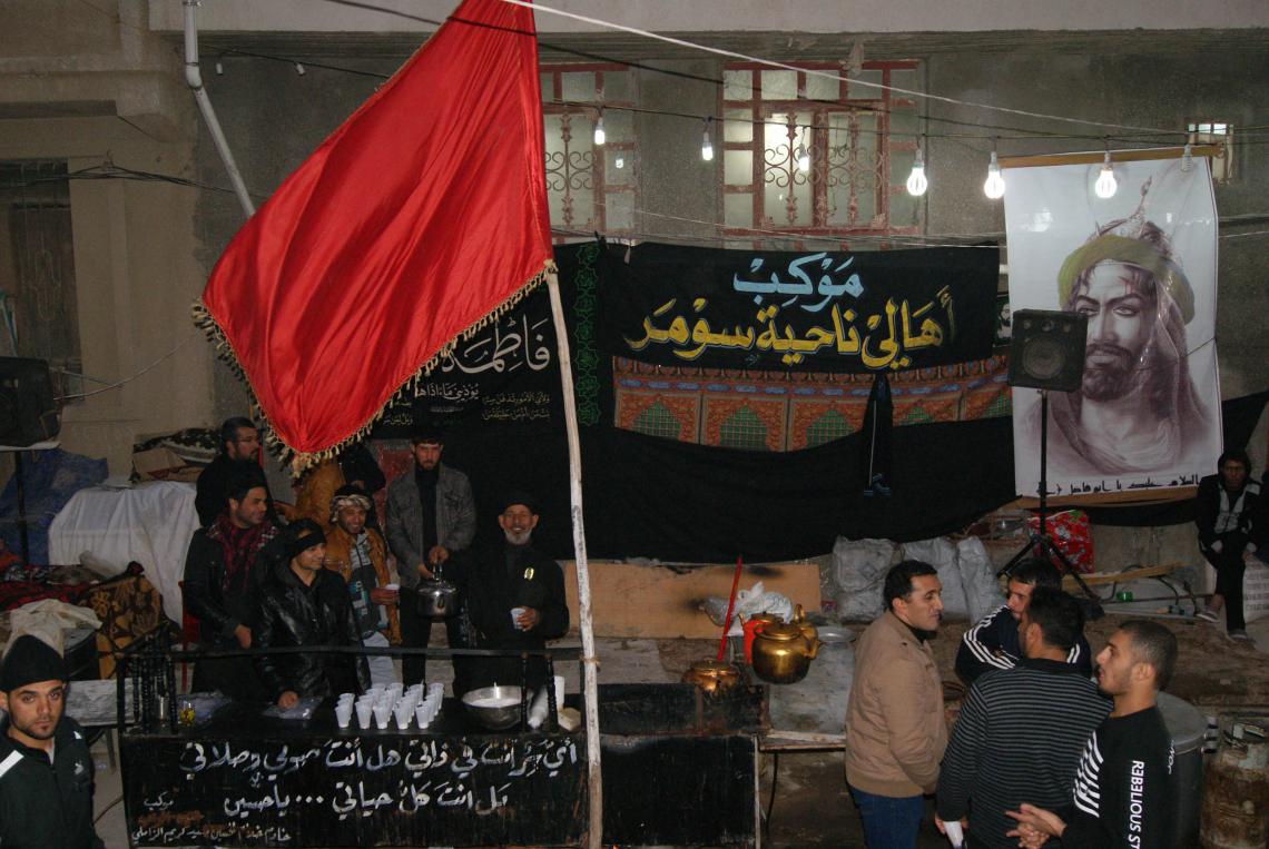 سوگواره دوم-عکس 50-محسن مرادی-پیاده روی اربعین از نجف تا کربلا