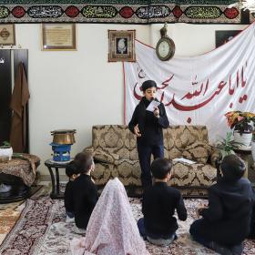 نهمین سوگواره عاشورایی عکس هیأت-تهمینه رحمانی-مجالس احیای امر اهلالبیت علیهمالسلام