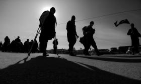 سوگواره پنجم-عکس 130-امیر قیومی-پیاده روی اربعین از نجف تا کربلا