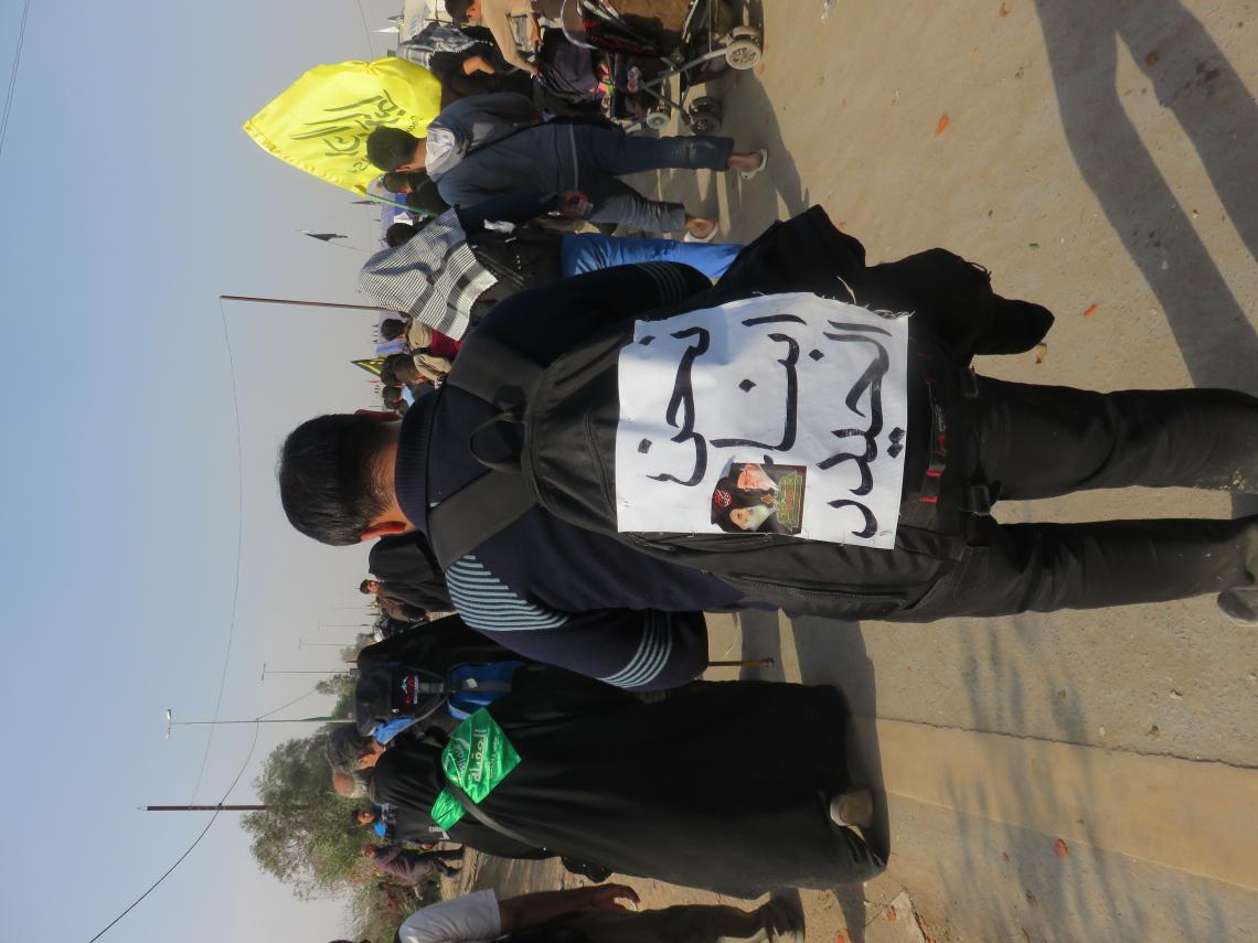 سوگواره سوم-عکس 9-محمد ابراهیمی-پیاده روی اربعین از نجف تا کربلا