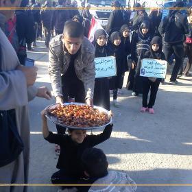 سوگواره سوم-عکس 8-محمود خدابخشی-پیاده روی اربعین از نجف تا کربلا