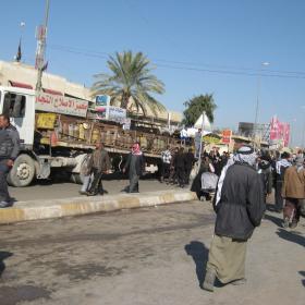 سوگواره دوم-عکس 14-محمد کشاورز-پیاده روی اربعین از نجف تا کربلا