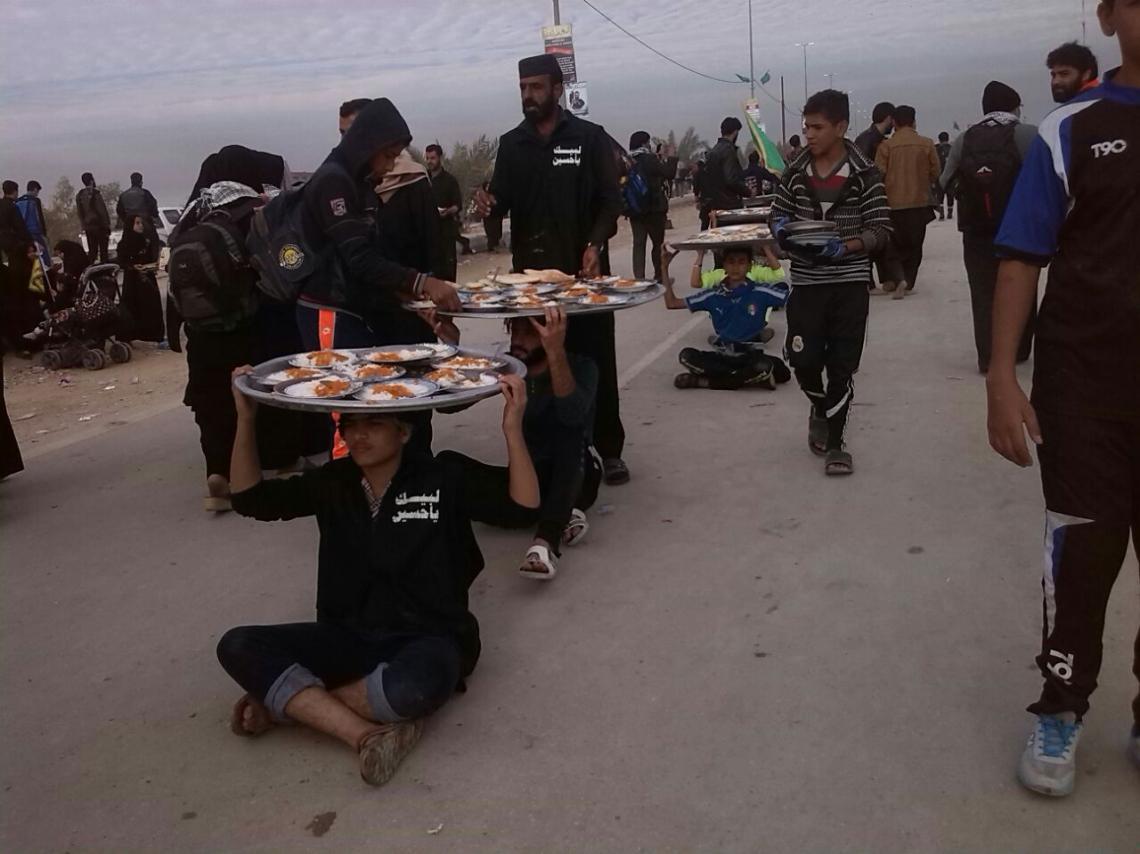 سوگواره چهارم-عکس 14-رقیه آل احمد-پیاده روی اربعین از نجف تا کربلا