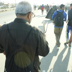 سوگواره چهارم-عکس 23-عمار ابوالفتحی-پیاده روی اربعین از نجف تا کربلا