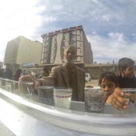 سوگواره چهارم-عکس 9-علی  حسن زاده-پیاده روی اربعین از نجف تا کربلا