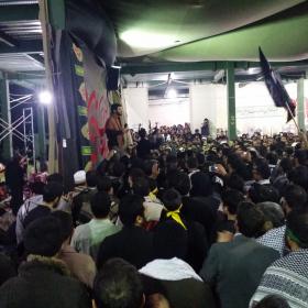 سوگواره سوم-عکس 19-محمد حسین کلهر-پیاده روی اربعین از نجف تا کربلا