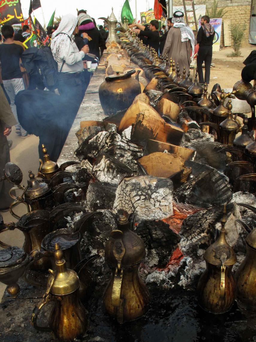 سوگواره سوم-عکس 11-جهانگیر سرزارع-پیاده روی اربعین از نجف تا کربلا