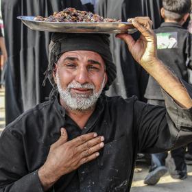 سوگواره سوم-عکس 13-امیر قیومی-پیاده روی اربعین از نجف تا کربلا