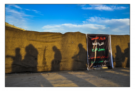 سوگواره پنجم-عکس 1-عمار رحمانی-پیاده روی اربعین از نجف تا کربلا