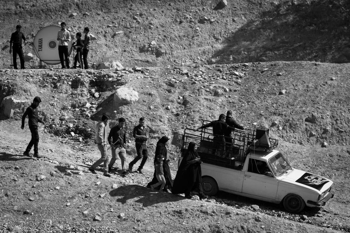 سوگواره چهارم-عکس 35-اسحاق آقایی منصور اباد-آیین های عزاداری
