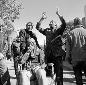 سوگواره چهارم-عکس 14-حسین رضاپناه-آیین های عزاداری