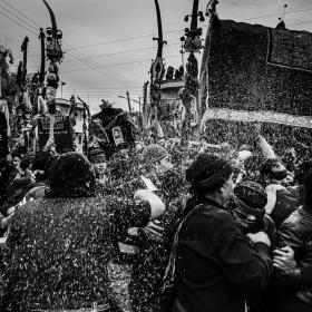 سوگواره سوم-عکس 11-رضا رضائیان-پیاده روی اربعین از نجف تا کربلا