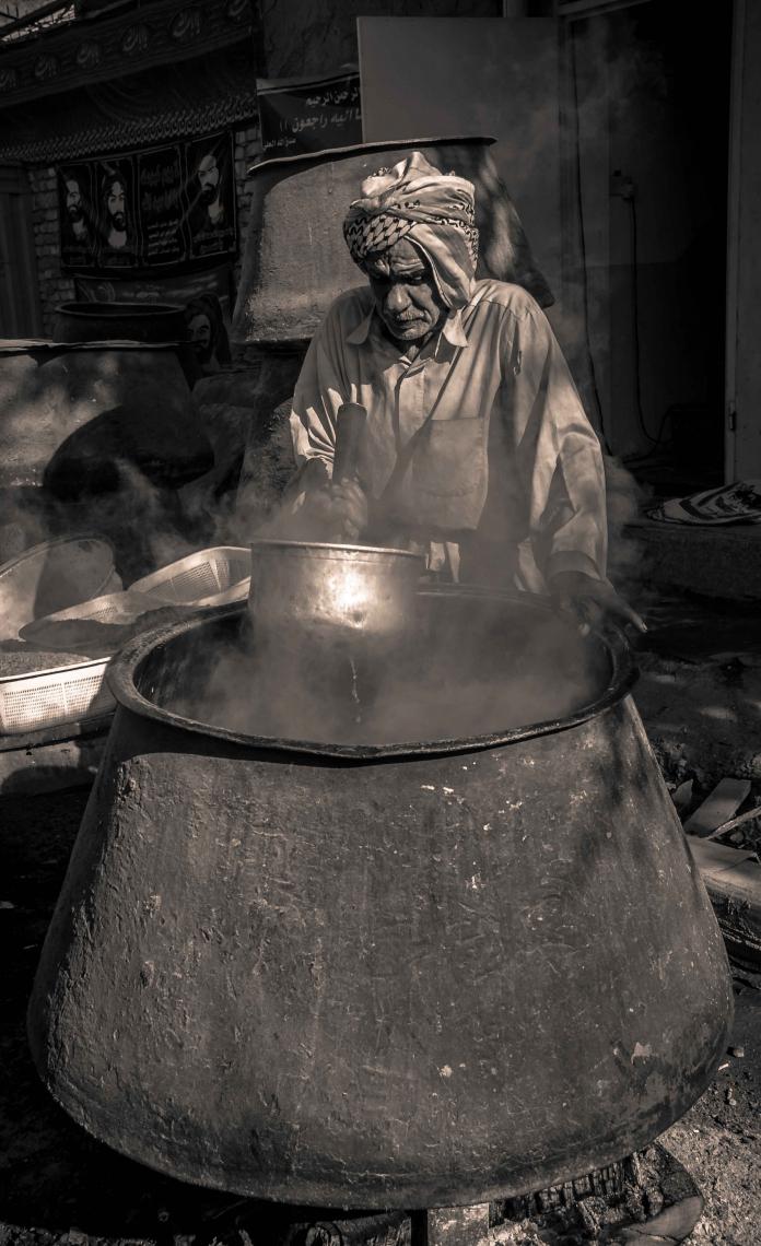 سوگواره سوم-عکس 18-امید نائینی-پیاده روی اربعین از نجف تا کربلا