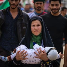 سوگواره چهارم-عکس 15-محمد رضا میثمی-پیاده روی اربعین از نجف تا کربلا