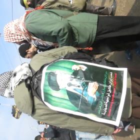 سوگواره سوم-عکس 6-محمد ابراهیمی-پیاده روی اربعین از نجف تا کربلا