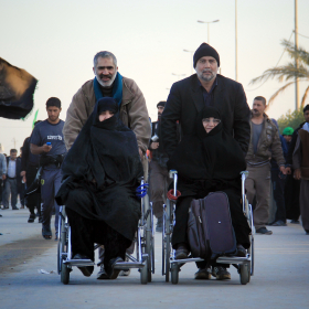 سوگواره سوم-عکس 17-محمد حسن صلواتی-پیاده روی اربعین از نجف تا کربلا