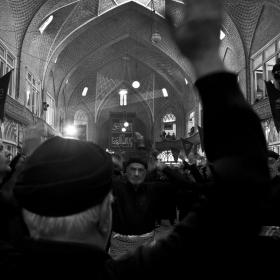سوگواره دوم-عکس 2-حبیب پروین قدس-جلسه هیأت فضای داخلی