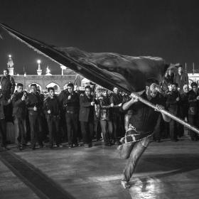 سوگواره پنجم-عکس 32-هادی دهقان پور-پیاده روی اربعین از نجف تا کربلا