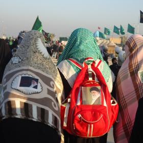 سوگواره دوم-عکس 7-علی محمودی راد-پیاده روی اربعین از نجف تا کربلا