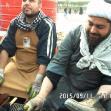 سوگواره چهارم-عکس 42- احمد عسگری زاده-پیاده روی اربعین از نجف تا کربلا