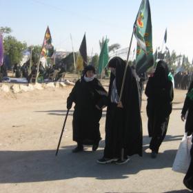 سوگواره دوم-عکس 5-محمد کشاورز-پیاده روی اربعین از نجف تا کربلا