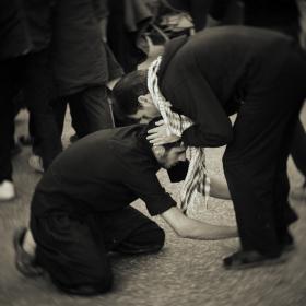 سوگواره سوم-عکس 2-محمد شاه علی-پیاده روی اربعین از نجف تا کربلا