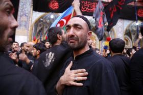 سوگواره پنجم-عکس 21-احسان مهدیان-پیاده روی اربعین از نجف تا کربلا