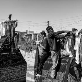 سوگواره پنجم-عکس 38-مرتضی امین الرعایایی-جلسه هیأت