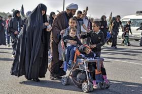 سوگواره پنجم-عکس 5-سعید عبدلی زاده-پیاده روی اربعین از نجف تا کربلا