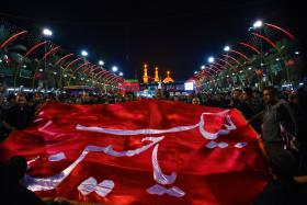 سوگواره پنجم-عکس 8-مرتضی شادور-پیاده روی اربعین از نجف تا کربلا