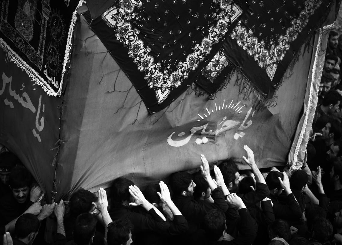 سوگواره چهارم-عکس 8-محسن  کابلی-آیین های عزاداری
