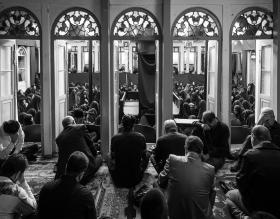 سوگواره پنجم-عکس 16-محمد حسین عیدی-جلسه هیأت