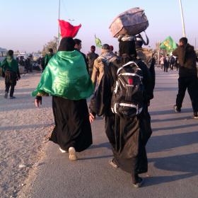 سوگواره سوم-عکس 22-محمد وحيدي-پیاده روی اربعین از نجف تا کربلا