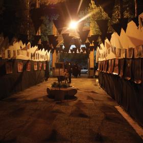 سوگواره سوم-عکس 18-محمد رهنما فلاورجانی-جلسه هیأت فضای بیرونی