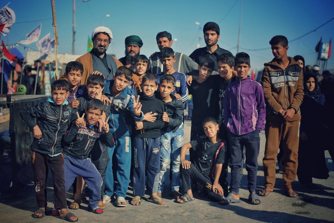 سوگواره چهارم-عکس 11-عین الله متقی زاده-پیاده روی اربعین از نجف تا کربلا