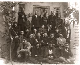 سوگواره سوم-عکس 6-اصغر محمد زاده-جلسه هیأت یادبود
