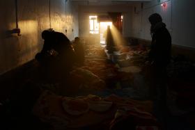 سوگواره دوم-عکس 1-علی هویسی-پیاده روی اربعین از نجف تا کربلا