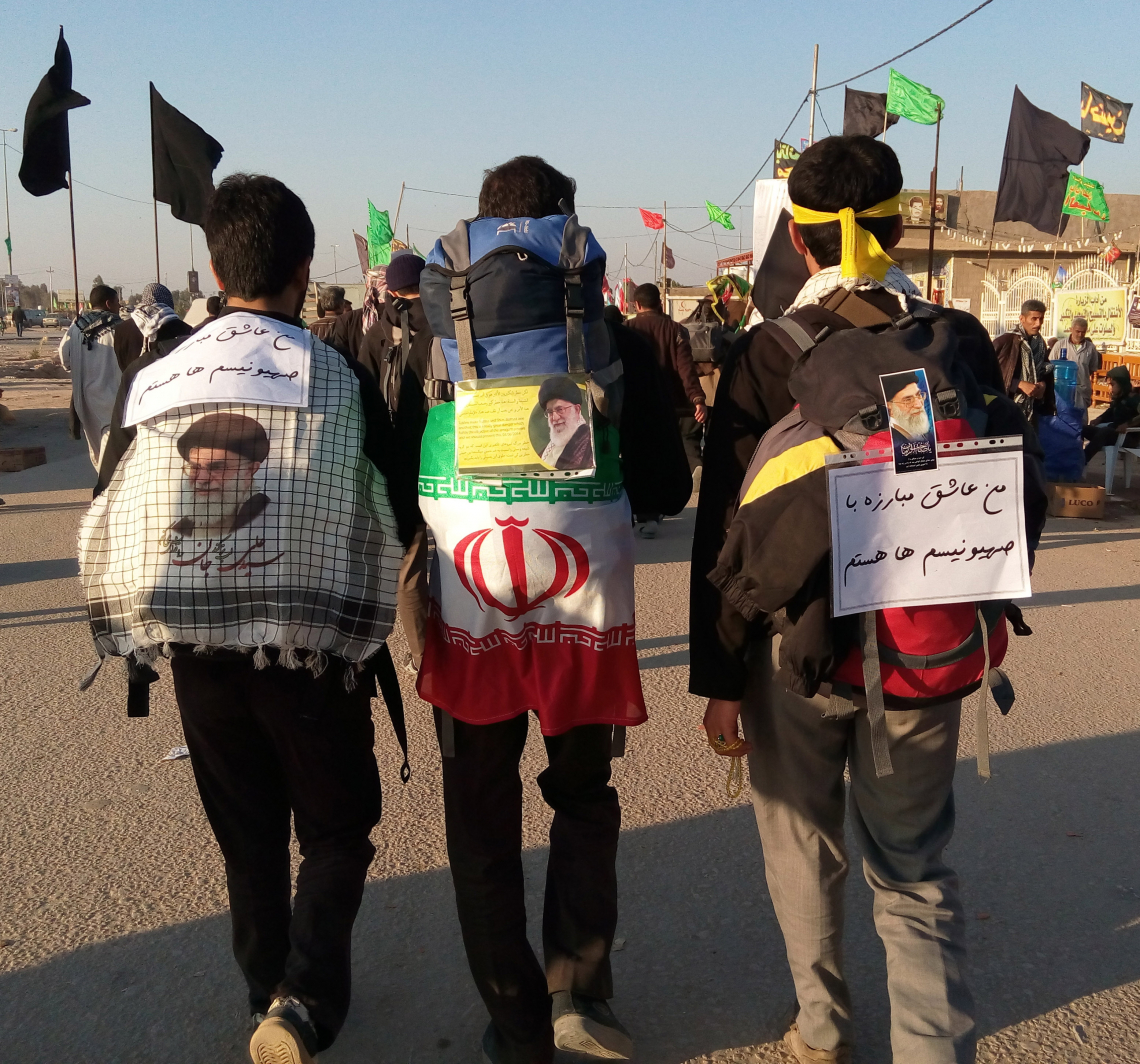 سوگواره سوم-عکس 35-حامد بیگلری-پیاده روی اربعین از نجف تا کربلا