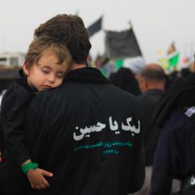 سوگواره سوم-عکس 22-احمد قارداش پور طرقی-پیاده روی اربعین از نجف تا کربلا