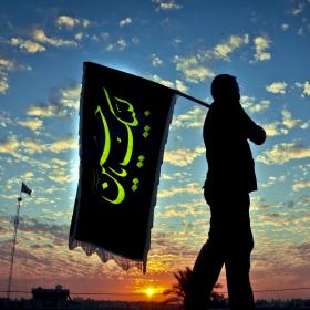 سوگواره چهارم-عکس 21-حمید رضا حبیبی محب سراج-پیاده روی اربعین از نجف تا کربلا