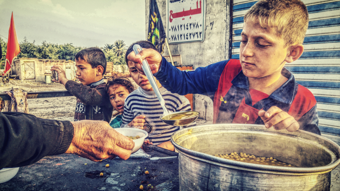 سوگواره چهارم-عکس 18-مسلم محمدی-پیاده روی اربعین از نجف تا کربلا